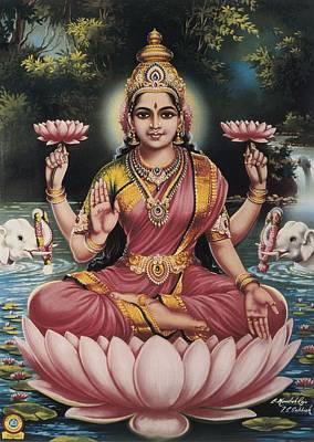 Goddess Srhi Sentamarai Laximi, Wife Poster