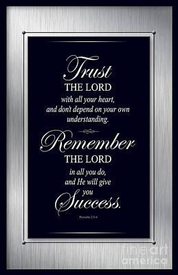 God's Business Plan Poster