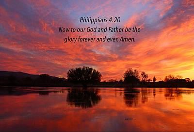 God's Glory Poster