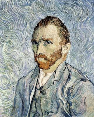 Gogh, Vincent Van 1853-1890. Self Poster by Everett