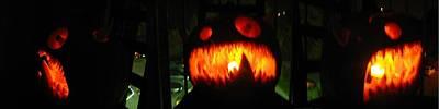 Going Up Pumpkin Poster