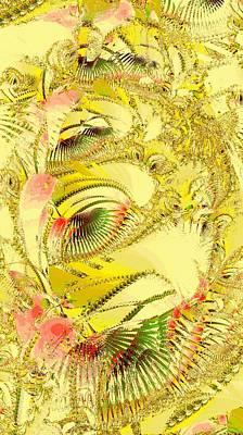 Golden Poster by Anastasiya Malakhova