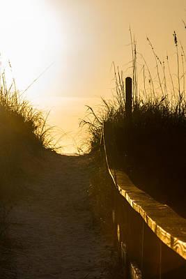 Golden Beach Access Poster