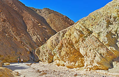 Poster featuring the photograph Golden Canyon - Death Valley by Dana Sohr