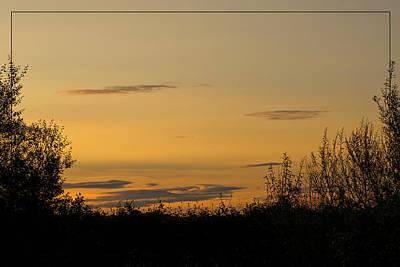 Poster featuring the photograph Golden Daybreak by Liz  Alderdice