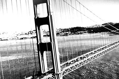 Poster featuring the photograph Golden Gate by Amy Giacomelli