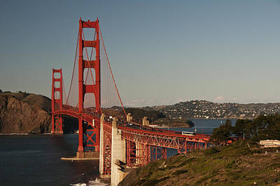 Poster featuring the photograph Golden Gate Bridge 2 by Lee Kirchhevel
