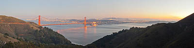 Golden Gate Bridge Across The Bay Poster by Panoramic Images