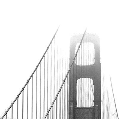 Golden Gate Bridge Poster by Ben and Raisa Gertsberg