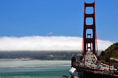 Golden Gate Bridge Looking South Poster by RicardMN Photography