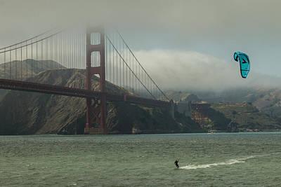 Golden Gate Poster by Ken Kobe
