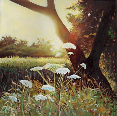 Golden Hedgerow Poster