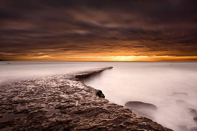 Golden Poster by Jorge Maia