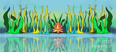 Golden Lotus Poster