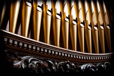 Golden Organ Pipes Poster