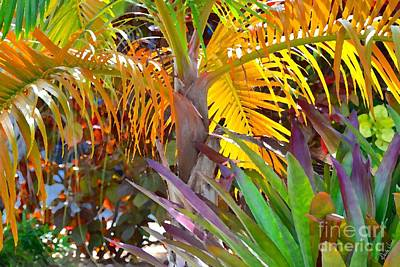 Poster featuring the photograph Golden Palm 2 by Darla Wood