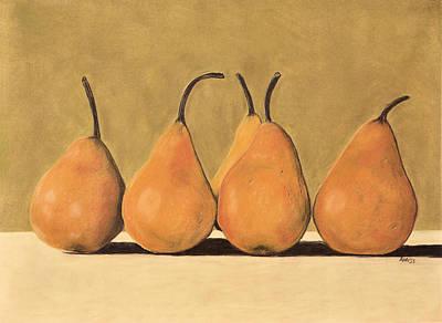 Golden Pears  Poster