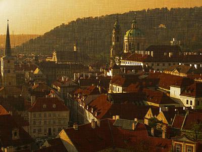 Golden Prague Poster
