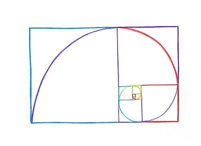 Golden Spiral - Fibonacci Spiral Poster