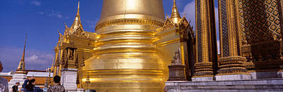 Golden Stupa In A Temple, Grand Palace Poster