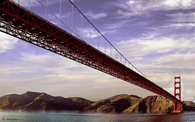 Goldengate Bridge San Francisco Poster by Bob and Nadine Johnston