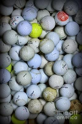 Golf Balls 1 Poster by Paul Ward