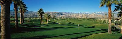 Golf Course, Desert Springs Poster