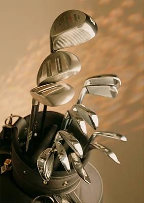 Golf Equipments Poster