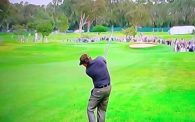 Golf Swing Drive Poster