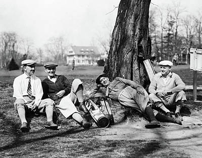Golfers, C1926 Poster by Granger
