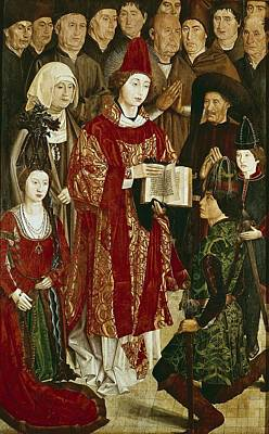 Gon�alves, Nuno 1411-1471. Altarpiece Poster