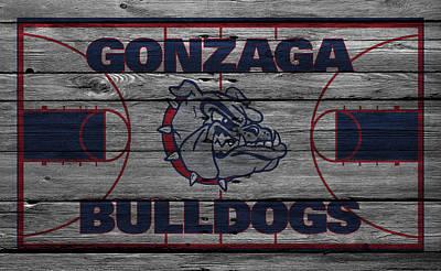 Gonzaga Bulldogs Poster by Joe Hamilton