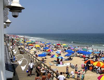 Good Beach Day At Bethany Beach In Delaware Poster