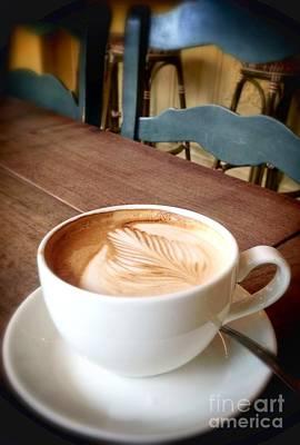 Good Morning Latte Poster