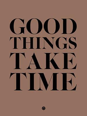 Good Things Take Time 3 Poster