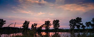 Goose Lake Prairie Sunset Poster