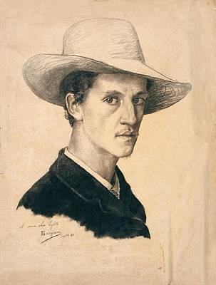 Gordigiani Eduardo, Self-portrait Poster by Everett