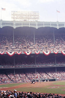 Gorgeous View Of Old Yankee Stadium Poster by Retro Images Archive