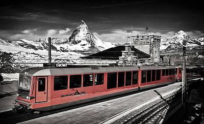 Gornergrat Bahn Poster