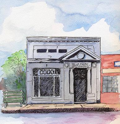 Gosport Bank Poster by Katherine Miller