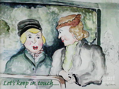 Gossip On The Bus Poster