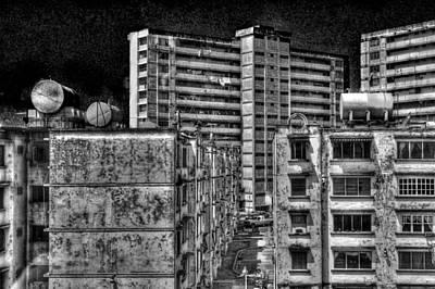 Gotham City Panama Style Poster