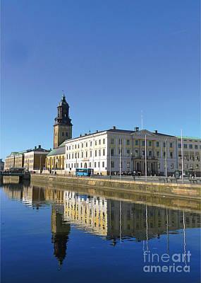 Gothenburg Canal Poster