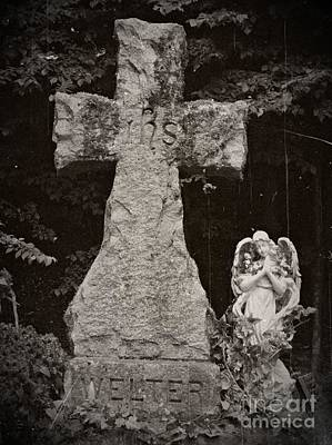 Gothic Cross Poster by Chalet Roome-Rigdon