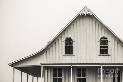 Gothic House On Block Island Poster by Diane Diederich