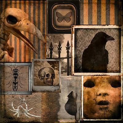Gothic Menagerie Poster by Gothicrow Images