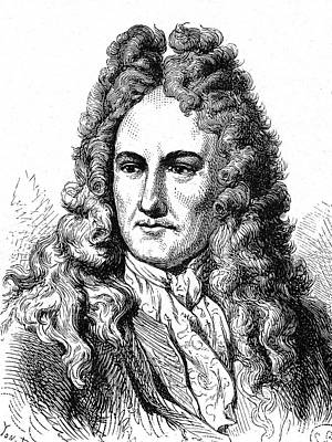Gottfried Leibniz Poster
