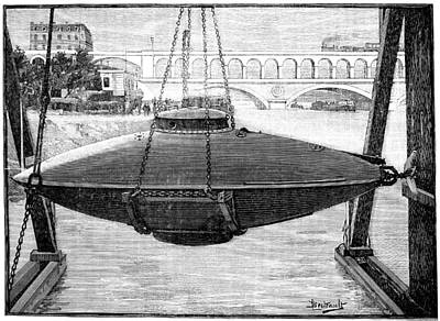 Goubet Submarine, 1880s Poster by Science Photo Library