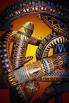Gourd Snake Poster