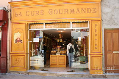 Gourmet Shop Poster by Christiane Schulze Art And Photography
